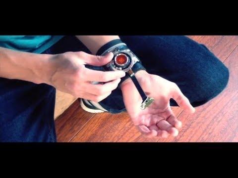 Amazing spiderman web shooters