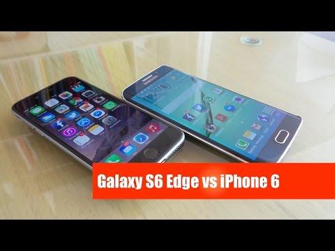 Samsung Galaxy S6 Edge vs iPhone 6: la sfida da mistergadget.net