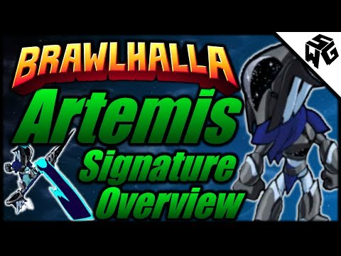 Artemis Signature Overview - Brawlhalla Gameplay :: Signatures About Space! HYPE