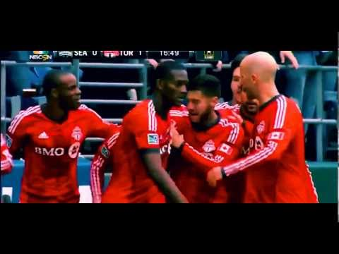 Jermain Defoe debut goal 1 Toronto v Seattle