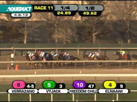 Verrazano - 2013 Wood Memorial (G1)