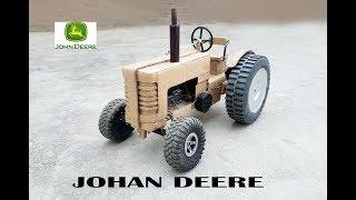 WOW! Super John Deere Tractor || How to make Old John Deere Tractor with cardboard || DIY ||