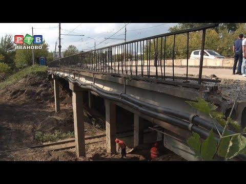 Большегрузы мешают ремонту дороги на ул.Смирнова