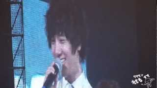 [YESUNG Focus]130512 SS4Tokyo Talking + YeWon kiss