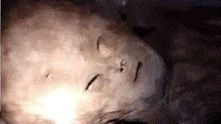 GREY ALIEN FILMED IN ATTIC