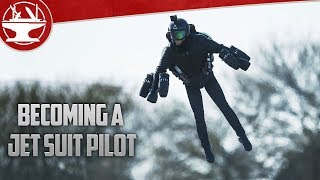 Flying a JET SUIT!