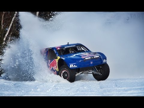 Red Bull Frozen Rush 2013 - Driving a 900-Horsepower truck on snow