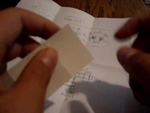 Paper 3x3 Rubik's Cube
