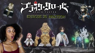The Third Eye Is In The Building! | BLACK CLOVER EPISODE 36 REACTION