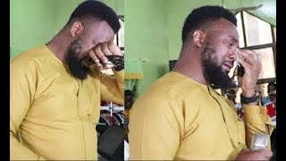 This Will Make U Cry! Yoruba Actor Leye Kuti Burst Into Tears At His Mom Wake Keeping Who Died