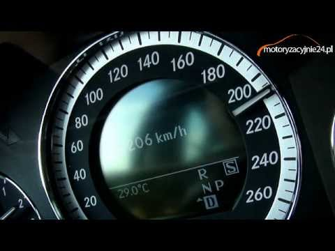 Mercedes E 350 CDI Acceleration