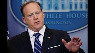 Press Secretary Sean Spicer holds White House news briefing