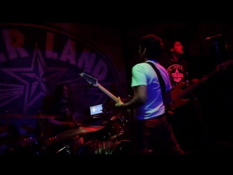 "Knights performing ""Omega"" live at Beerland in Austin, TX on October 17, 2012. Order Knights' new album DARK MATTER at -- Bandcamp: http://music.knightsoffic..."