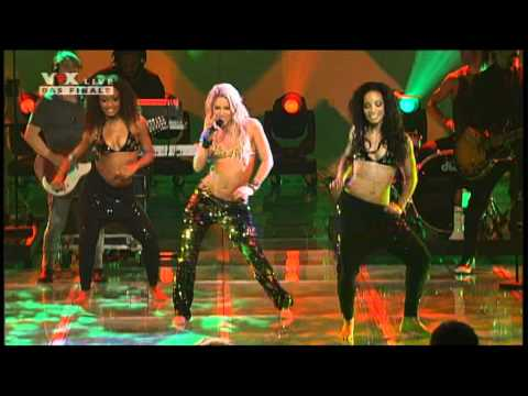 Shakira X Factor Germania Live:Loca Music Videos