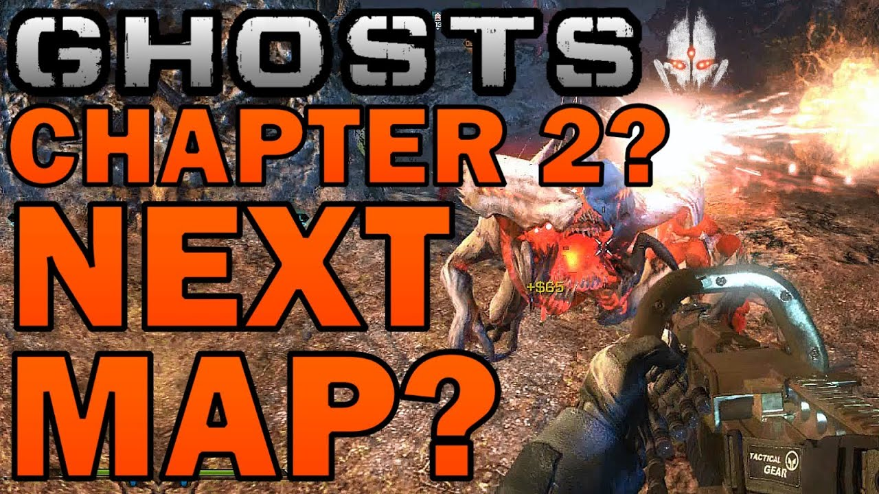 Cod Ghosts Extinction Chapter 2 More Maps Ghosts Dlc