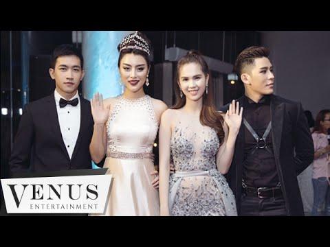 Đêm Hội Chân Dài 10   Khu Vực Thảm Đỏ   Venus Entertainment