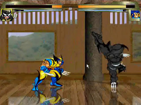 JFS M.U.G.E.N: Wolvenom in Action