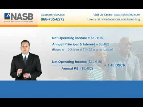 How Do I Calculate the Cash Flow (DSCR) for My IRA Real Estate Purchase?- Video 6