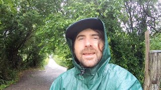 Rainy Day Walk & Filming in Glastonbury UK - Help Decide Our Next Relaxing Rain Video! VLOG