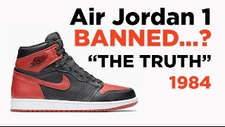 The TRUTH About the BANNED Shoes - 1984