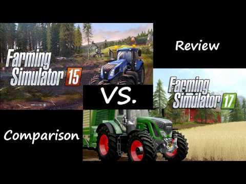 Farming Simulator 2017 vs. 2015 Review and Comparison