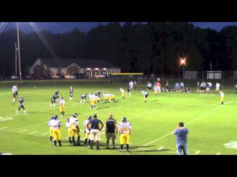 Franklin Christian Academy #7 Andrew Robison MS QB Aug 3 2013