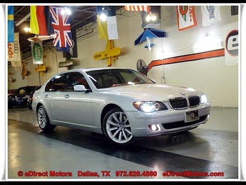 2007 Bmw 750li Edirect Motors Youtube