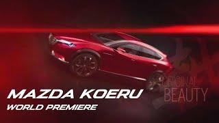 Mazda KOERU World Premiere