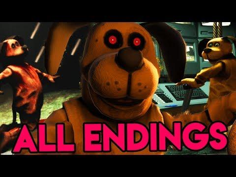 Duck Season - ALL ENDINGS (How To Unlock All 7/7 Endings)
