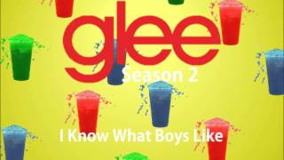 Ashley Fink - I Know What Boys Like (Glee Cast Version)
