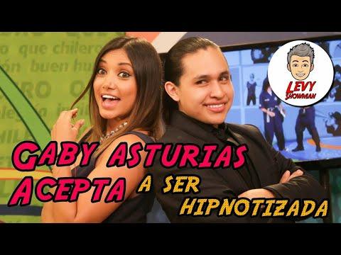Gaby Asturias Acepta ser hipnotizada por Nivek Levy | hipnosis Guatemala