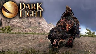 Dark and Light - Taming A Lava Tiger! (Molten Tiger or Lavatiger) (Dark and Light Gameplay Part 9)