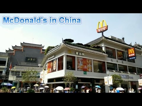 Mcdonald's In China video