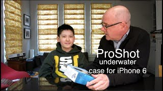 ProShot underwater case for iPhone unboxing and review
