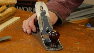 Sharpening and Setting the Bench Plane with Paul Sellers
