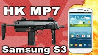 MP7 vs Samsung Galaxy S III_ Tech Assassin RatedRR HK MP7 S3 - Galaxy S3