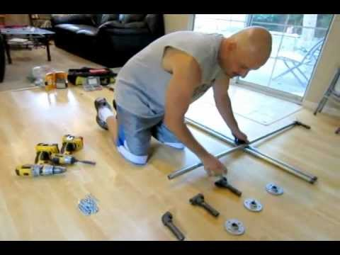 How to build a 3 station p90x pull up bar youtube