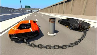 High Speed Crazy Jumps/Crashes BeamNG Drive Compilation #3 (Car Shredding Experiment)
