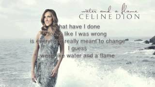Watch Celine Dion Water And A Flame video