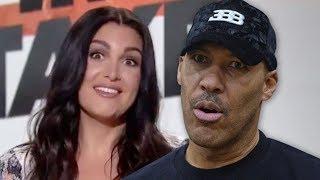 ESPN Host Molly Qerim ACCUSES Lavar Ball of FLIRTING|Why Are BW DEFENDING #LavarBall?