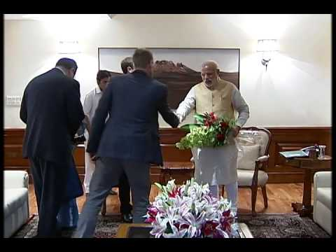 PM Narendra Modi meets Mark Zuckerberg