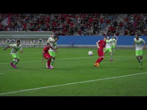 FIFA 16 FC Bayern München vs. VFL Wolfsburg @ Allianz Arena