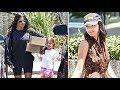 Kanye West Gives Kourtney Kardashian, Kendall Jenner And Penelope Disick New YEEZYs!