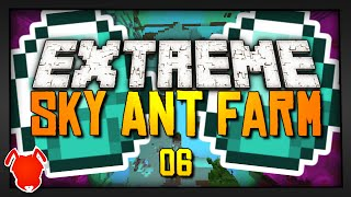 Extreme Sky Ant Farm - Ep. 6 - FULL DIAMOND ARMOR!