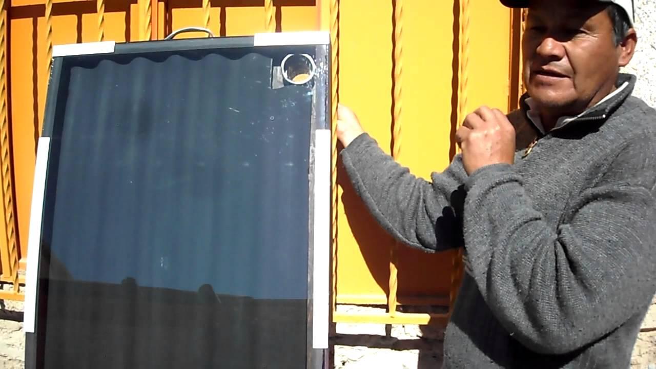 Calefactor De Aire Solar De Ventana Mp4 Youtube