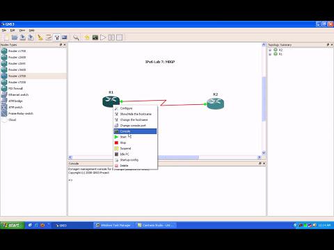 IPv6 Lab 7 Multiprotocol BGP MBGP Basics