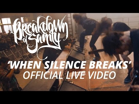 Breakdown Of Sanity - When Silence Breaks (Live)