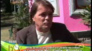 declaraciones rene s  sobre mayte y william