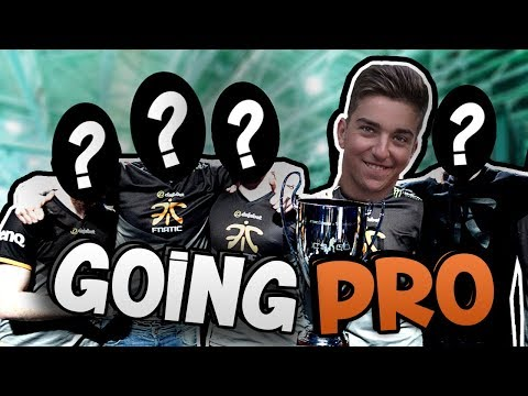 JOINING A PRO CSGO TEAM?!