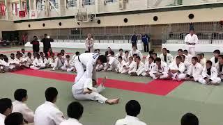 JAPAN JUDO   O UCHI GARI & HANE GOSHI 柔道連絡摔倒 大內割接彈腰